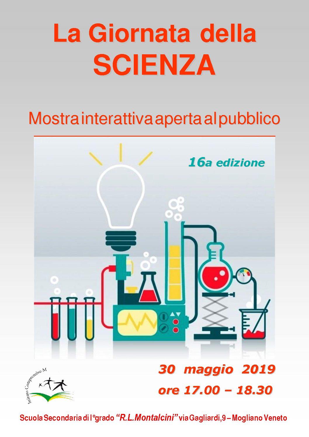 Giornata della scienza 2019- 16^ edizione!
