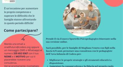 Sportello Psicopedagogico Itinerante on line 0-6